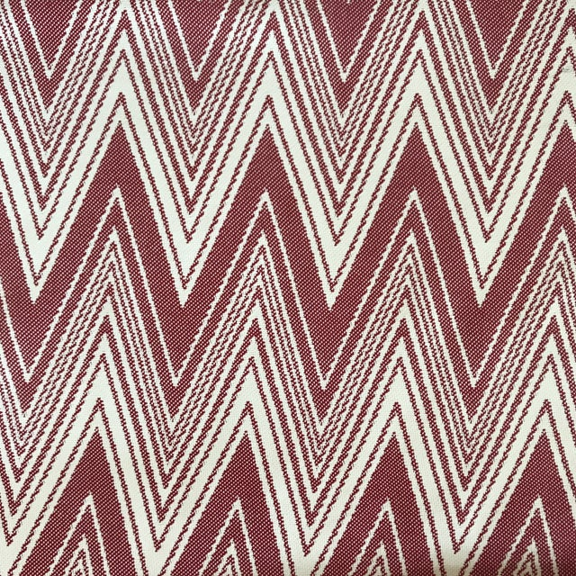 "Brunschwig & Fils ""Grace"" in Rojo Fabric For Sale"