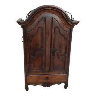 Miniature 18th Century Armoire For Sale