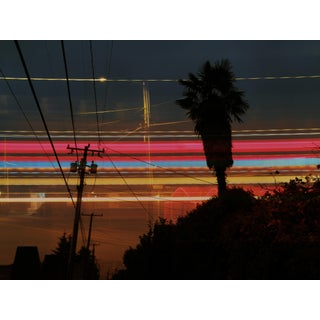 Contemporary Abstract Cityscape Photography Color Print For Sale