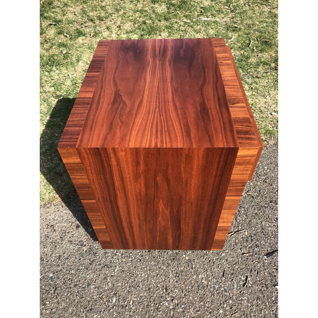 Mid 20th Century Mid Century Walnut Side Table by Widdicomb For Sale - Image 5 of 7