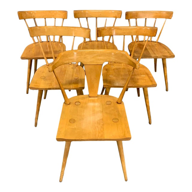 official photos 059dc 1a2f1 Maple Dining Chairs by Paul McCobb for Winchendon/Planner Group - Set of 6