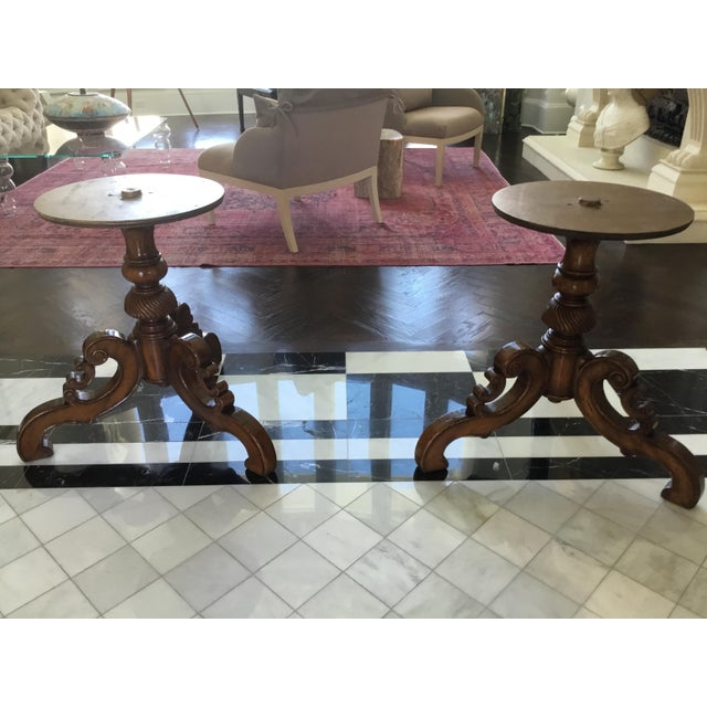 Alfonso Marina Spanish Wood Dining Table For Sale - Image 10 of 12