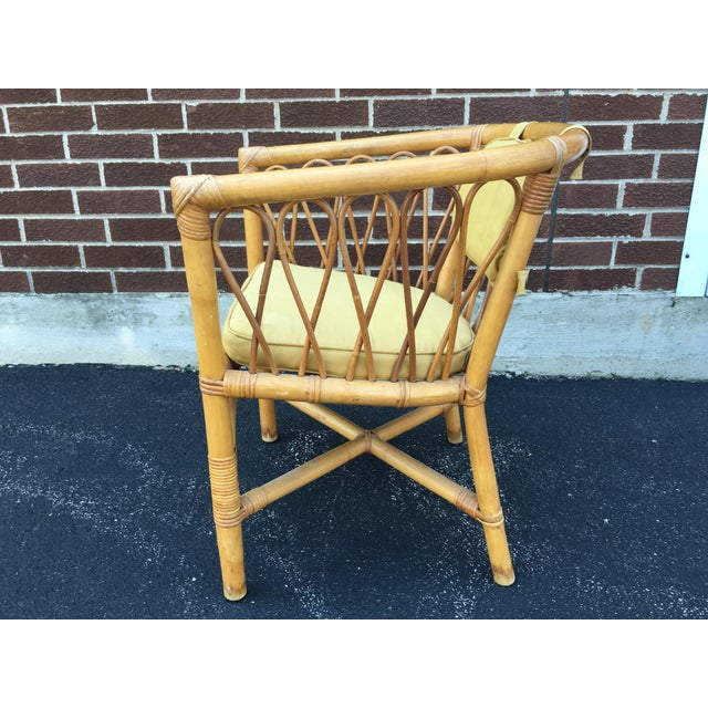 Vintage Ficks & Reed Rattan Barrel Chairs - 4 - Image 4 of 11