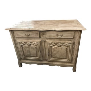 Painted Pine Country French Buffet For Sale