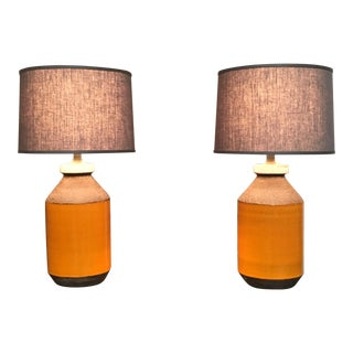 Italian Bitossi Lamps, 1960s - A Pair For Sale