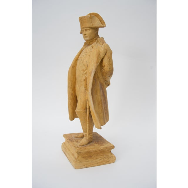 Empire Antique 19th C. Figure of Napoleon Bonaparte From London Dealer For Sale - Image 3 of 6