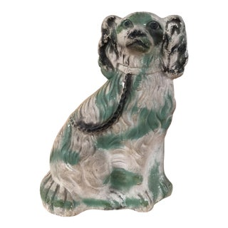 Chalkware Spaniel Dog Statue For Sale