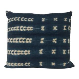 1970s Vintage West African Batik Pillow For Sale