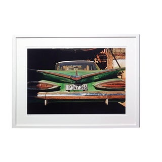 "John Conn ""Cuba 30"" Limited Edition Classic Car Cuban Photograph, Framed For Sale"