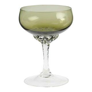 Sasaki Green Wine Glasses- Set of 6
