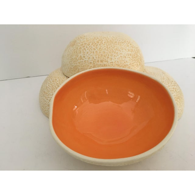 Hand made & created by artisans this four piece, set of slip-cast, functional, pottery is so realistic you can not tell...