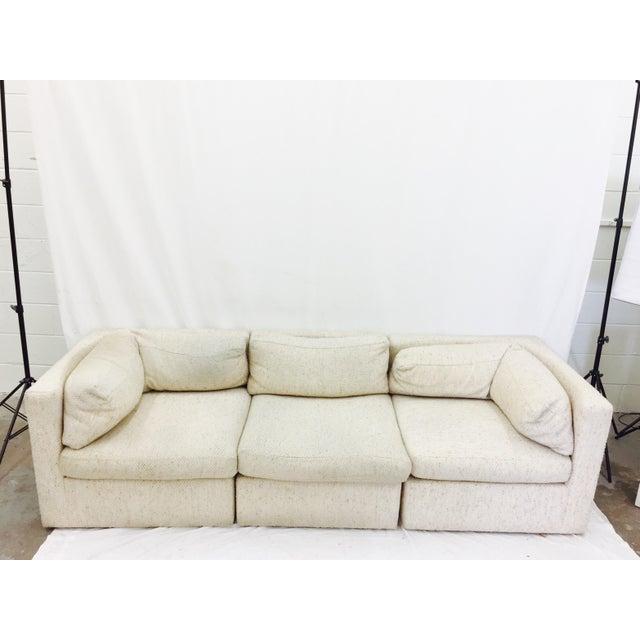 Vintage Mid-Century Modern Milo Baughman Sofa - Image 5 of 11
