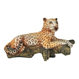 Leopard Figurine For Sale
