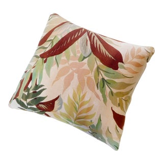Custom Made Botanical Pillow For Sale