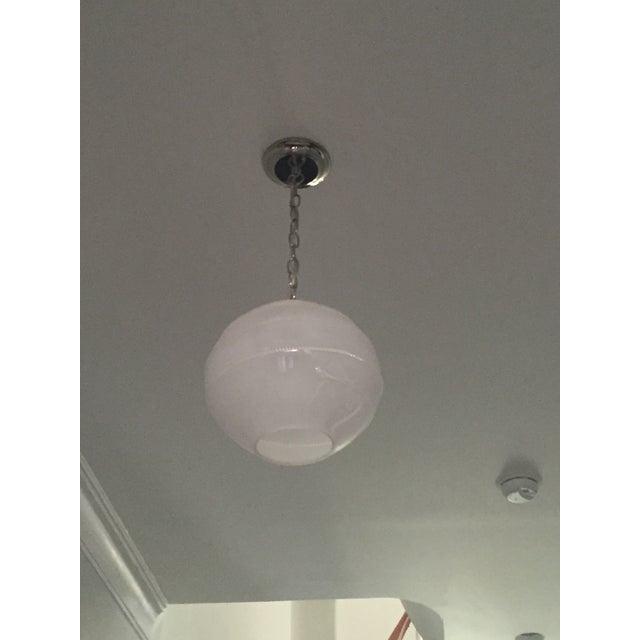 Juliska Amalia Frosted Globe Pendant Light - Image 6 of 6