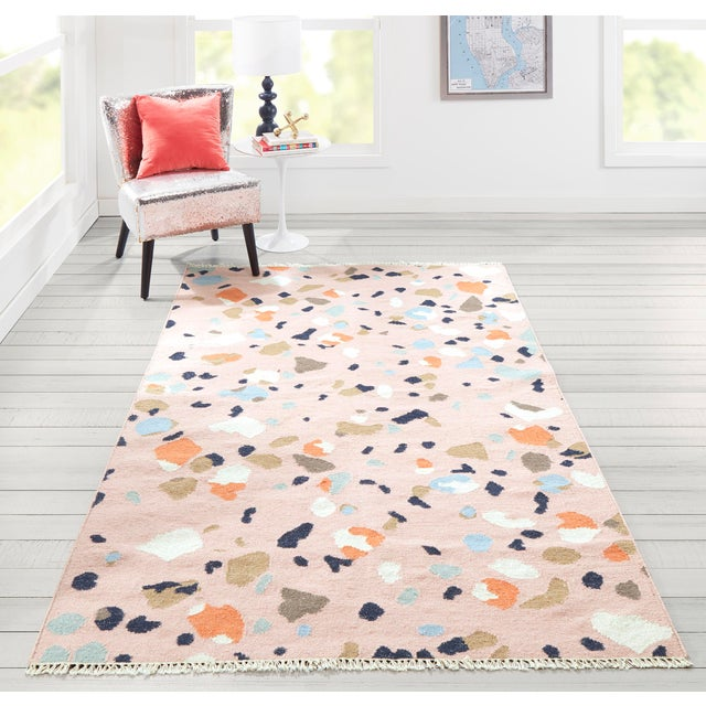 Novogratz by Momeni Jem Terri in Pink Rug - 2'X8' Runner For Sale In Atlanta - Image 6 of 7