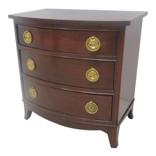Councill Mahogany Banded Top Chest of Drawers