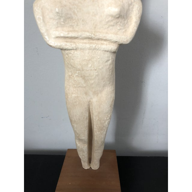 Vintage Alva Museum Replica Greek Cycladic Art - Image 3 of 7