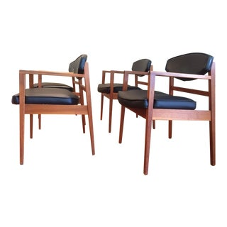 George Nelson for Herman Miller Mid Century Dining Chairs - Set of 4