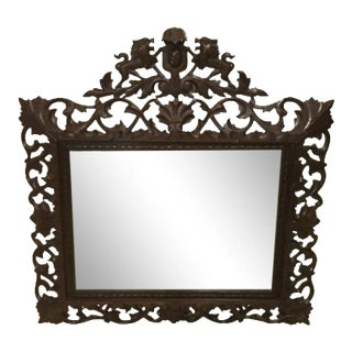 19th Century French Carved Mirror For Sale