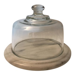 Marble Lidded Cheese Plate For Sale