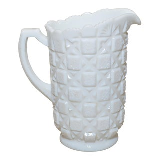 Westmorland Milk Glass Pitcher
