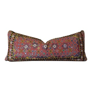 Tribal Reshmi Sutra Lumbar Pillow For Sale