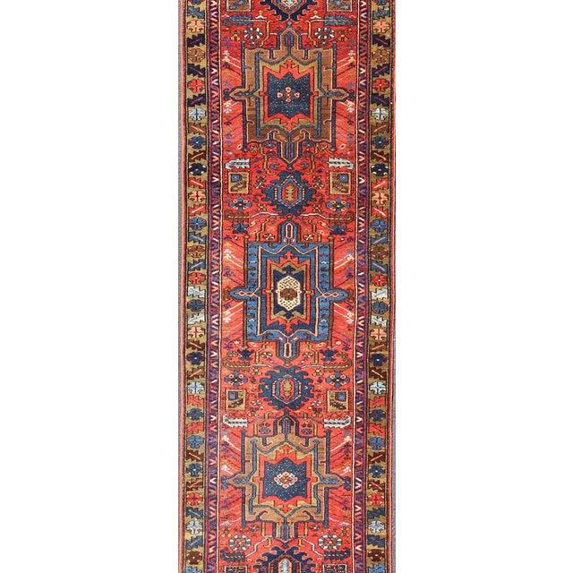 Islamic Antique Karadjeh Runner Rug - 2′10″ × 13′ For Sale - Image 3 of 5
