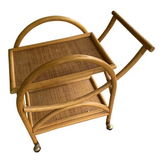 Vintage Bentwood Bar Cart For Sale