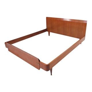 Italian Modern Bed Frame For Sale