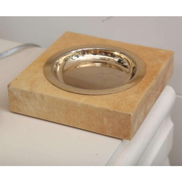 Aldo Tura Set of Goatskin Decorative Pieces (5 Items) - Image 8 of 10