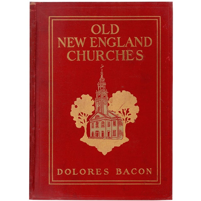 "1906 ""Old New England Churches and Their Children"" Collectible Book For Sale"