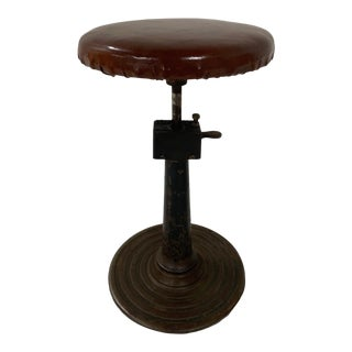1950s Industrial Stool For Sale