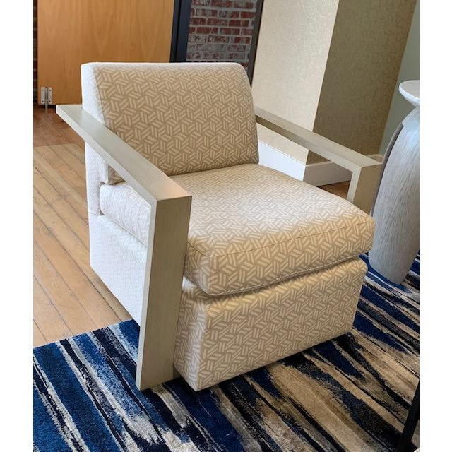 Textile Vanguard Furniture Troy Chair For Sale - Image 7 of 7