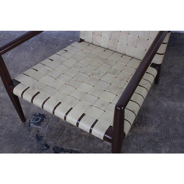Pair of Lounge Chairs by T.H. Robsjohn-Gibbings For Sale In Dallas - Image 6 of 11