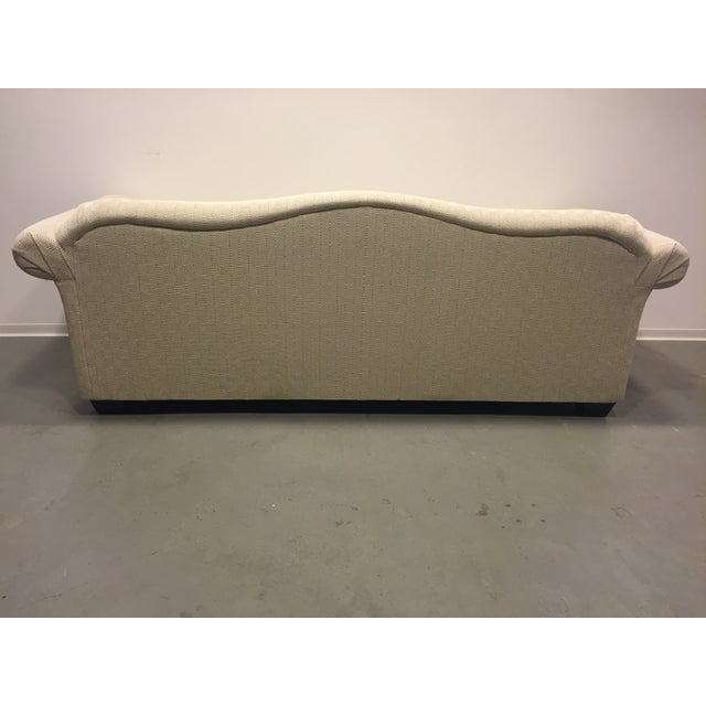 Contemporary Beige Upholstered Sofa - Image 5 of 7