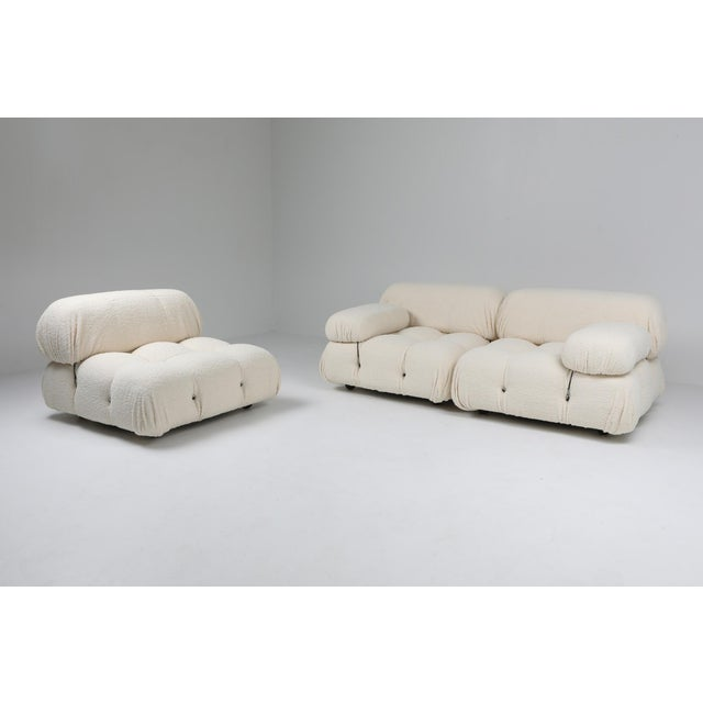 Camaleonda Bouclé Wool Sectional Sofa by Mario Bellini For Sale - Image 6 of 8