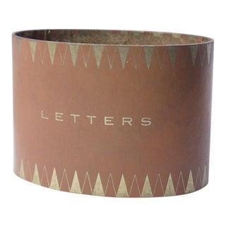 Mid-Century Letter Holder, 1950s