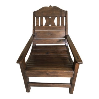 Balinese Plantation Chair For Sale