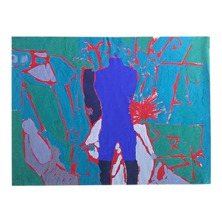 Figurative Abstract Painting For Sale