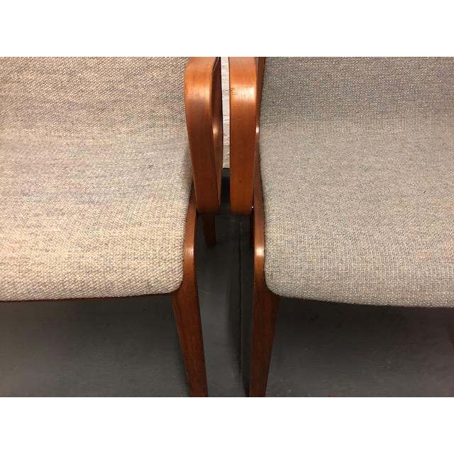 1980s Vintage Mid-Century Modern Bill Stephens for Knoll Chairs - A Pair For Sale In New York - Image 6 of 12