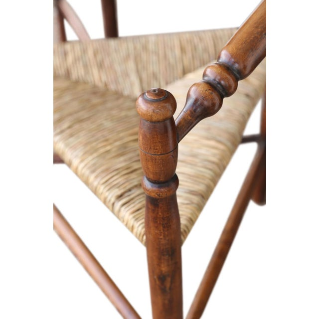 Set of Four Early 20th Century Turner Chairs by William Birch For Sale In Houston - Image 6 of 10