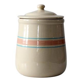 Circa 1970 McCoy Ceramic Cookie Jar For Sale