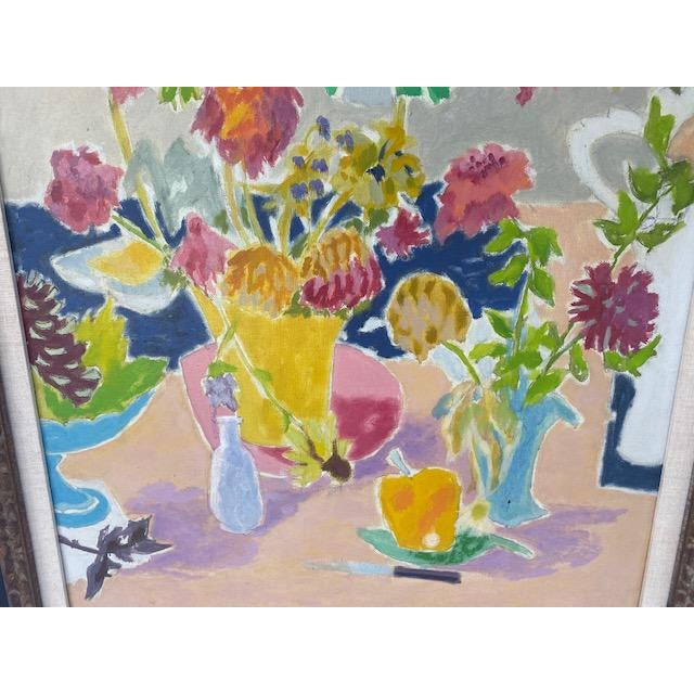 Mid-Century Modern Jean Cavailles Still Life For Sale - Image 3 of 8