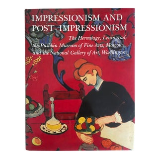 1986 Impressionism & Post Impressionism Monumental Collector's Art Book