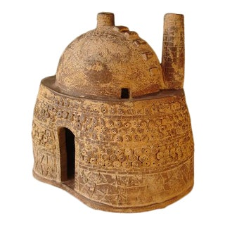 Mid 20th Century Contemporary Chinese Clay Model of a Kiln For Sale