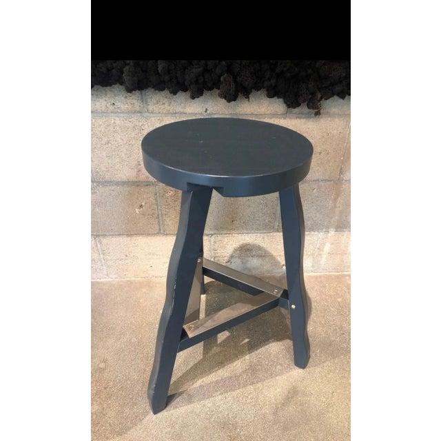 Contemporary Tom Dixon Offcut Stool Grey For Sale - Image 3 of 7