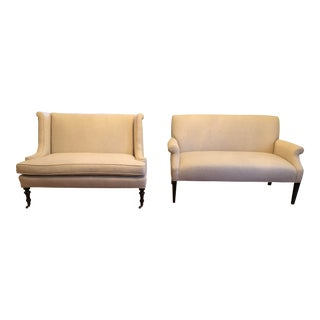 Lee Jofa Settees - a Pair For Sale