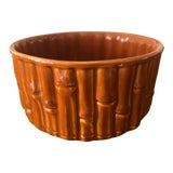 Image of 1950's Vintage Bamboo Pot Planter For Sale