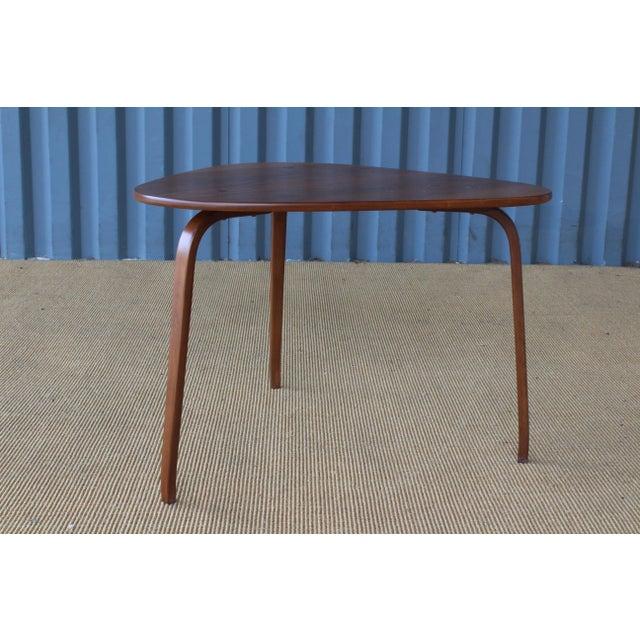 "1950s Yngve Ekstrom ""Krok"" Teak Side Table, Sweden, 1950s For Sale - Image 5 of 10"